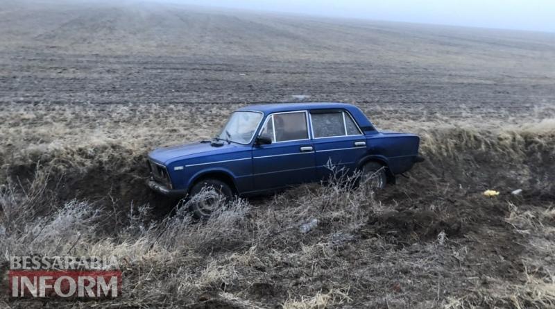 На трассе Одесса-Рени жуткий гололед, из-за которого в области объявлен желтый уровень опасности