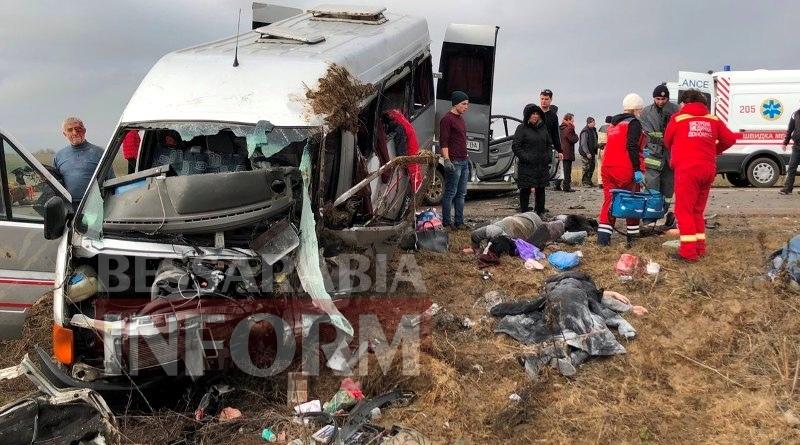 """На трассе Одесса-Рени в ДТП попала маршрутка """"Килия-Одесса"""". Есть погибшая и тяжело раненные (обновляется)"""