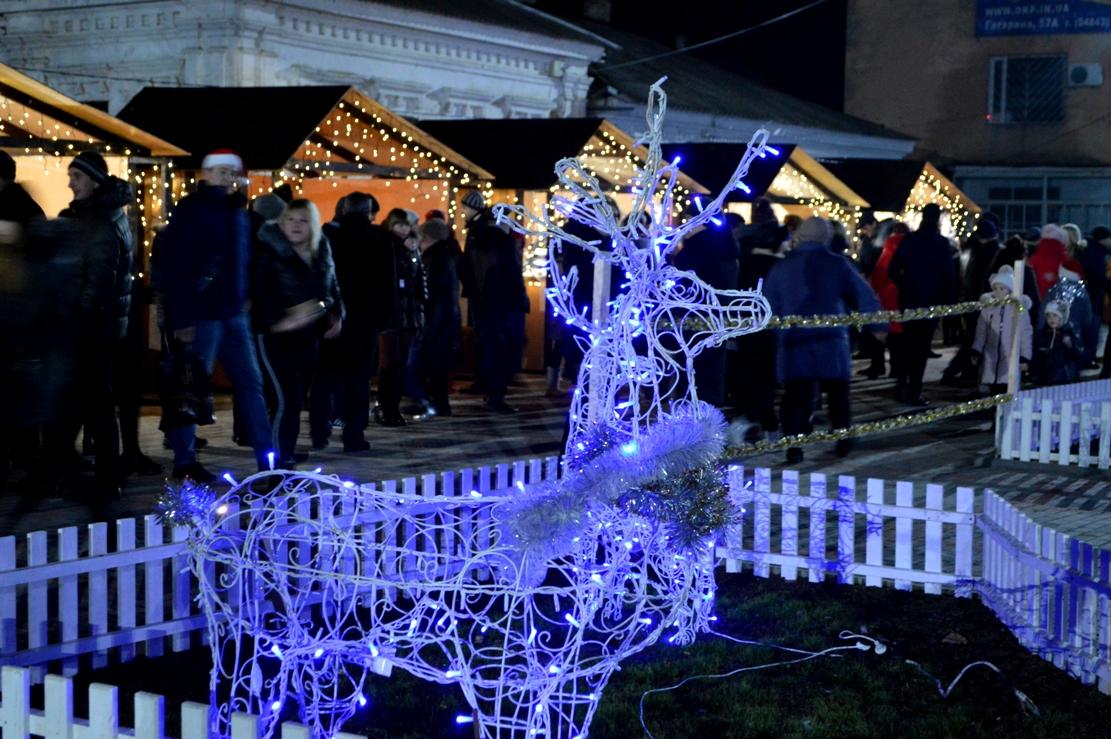 Килийцы до самого утра отмечали новый год у городской ёлки (фоторепортаж)