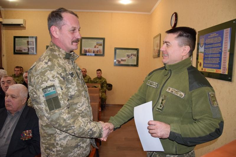 В Измаильском отряде чествовали пограничников - участников боевых действий в Афганистане