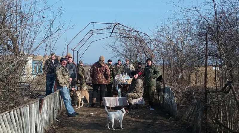 На заповедных землях НПП «Тузловские лиманы» охотники устроили сафари
