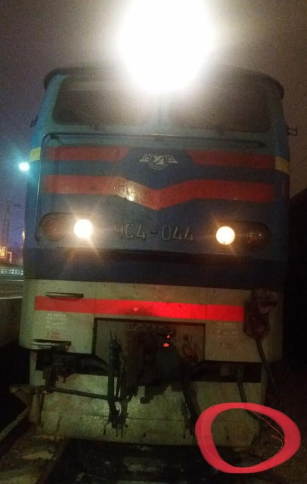 В Одесской области поезд сообщением Москва-Одесса задавил человека