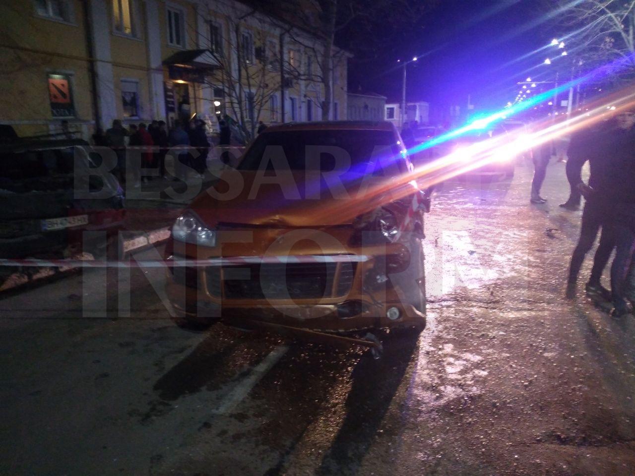 200 км\час: в Измаиле Porsche Cayenne, уходя от погони, спровоцировал масштабное ДТП