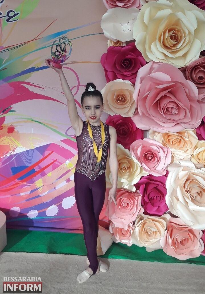 Гимнастки из Измаила - на пьедестале Международного турнира