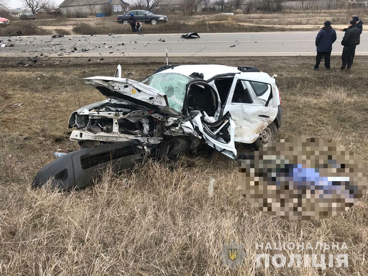 Еще одно смертельное ДТП на трассе Одесса-Рени: возле Баштановки погибли два человека