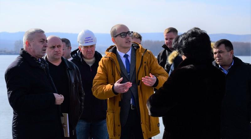 """Пограничники совместно с взаимодействующими службами дали свое добро на открытие паромной переправы """"Орловка - Исакча"""""""