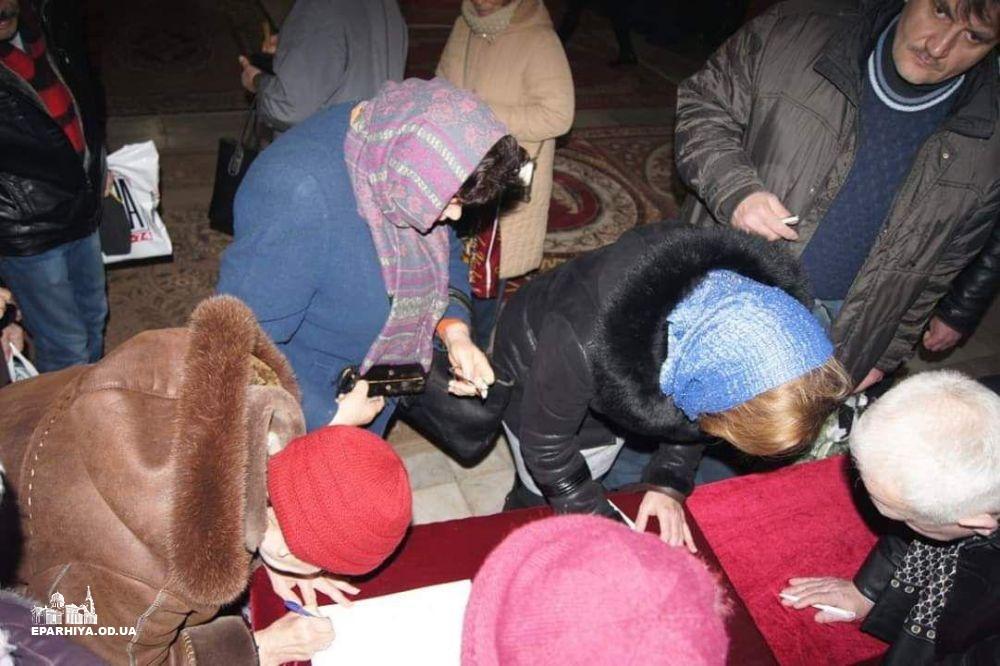 Община крупнейшего в Измаиле Свято-Покровского собора отказалась присоединяться к ПЦУ