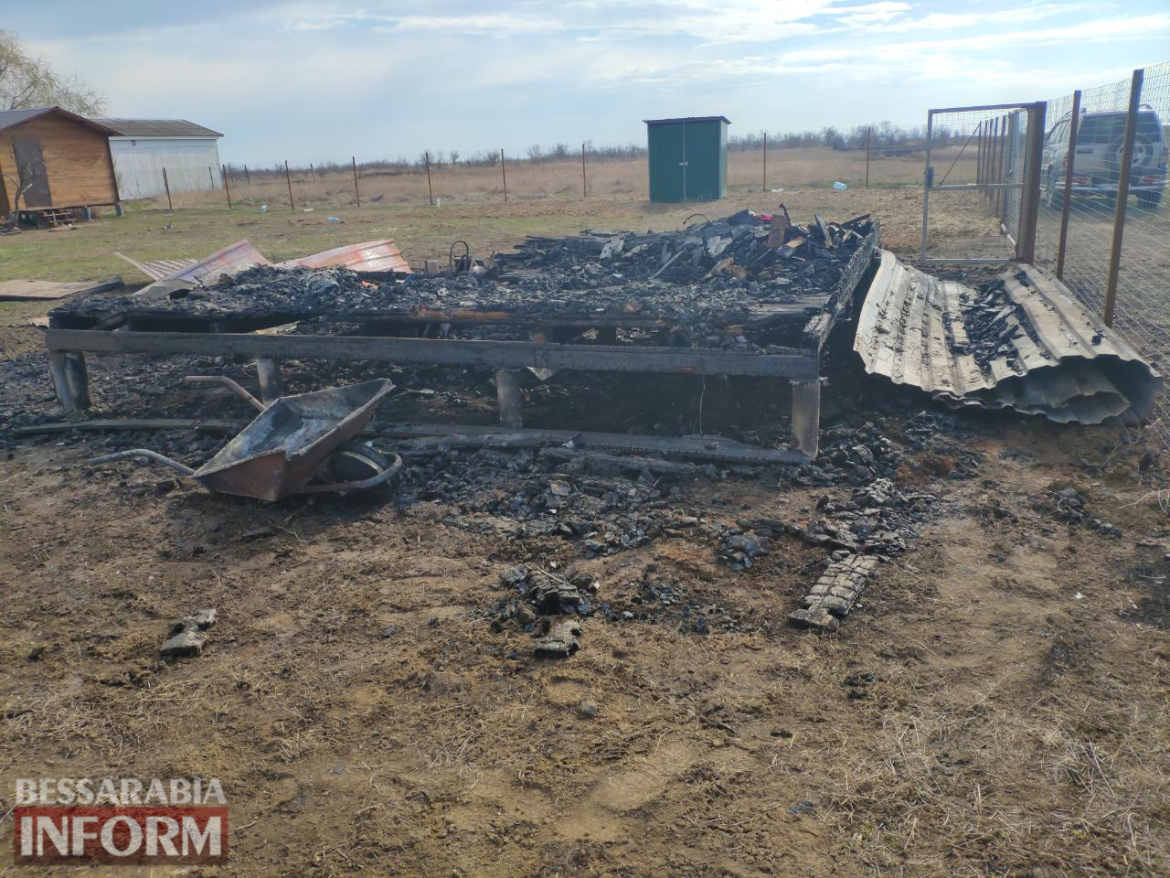 Брату депутата Килийской ОТГ сожгли дачу в курортном Приморском