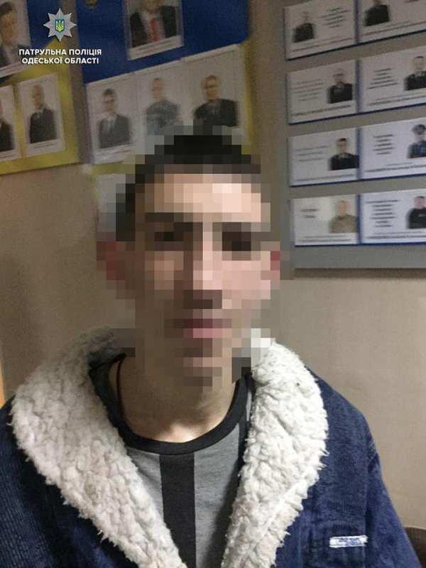 Четверо на одного: в Измаиле ночью патрульная полиция задержала банду молодых грабителей
