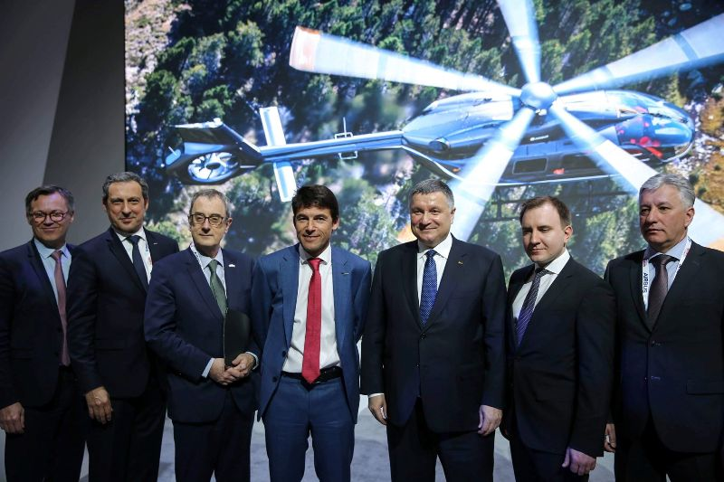 МВД Украины закупает вертолеты последней модели для модернизации своих подразделений
