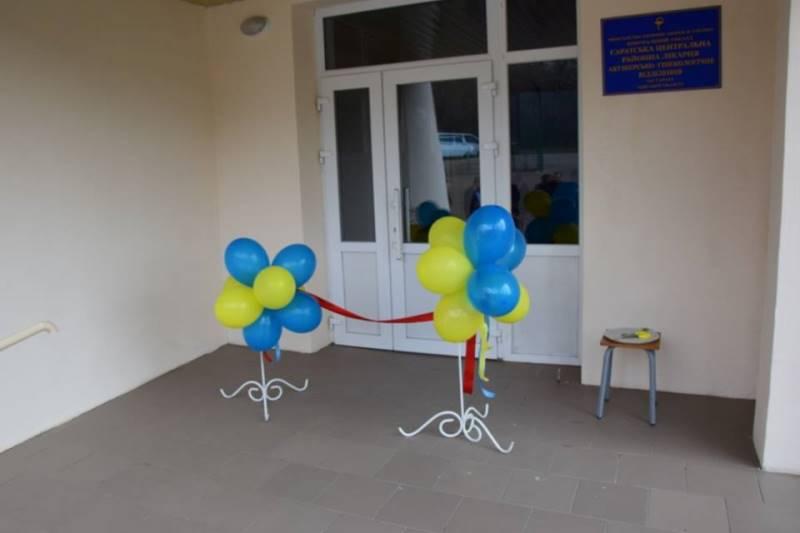 В Саратской ЦРБ торжественно открыли роддом после капремонта