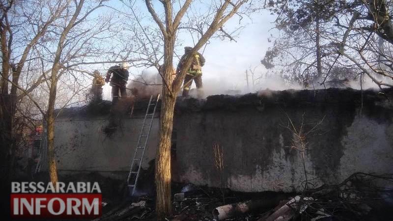 Пожар в Белгород-Днестровском районе оставил без крыши над головой пожилую женщину