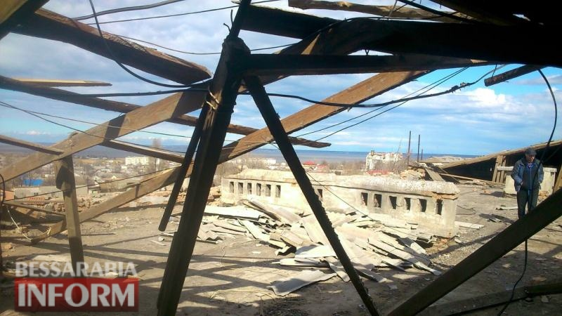 Сорванную стихией крышу одного из домов Аккермана планируют капитально отремонтировать - осталось найти средства