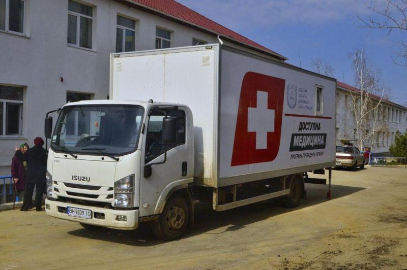 """Больше всего жителей Арцизского, Килийского и Измаильского районов было обследовано в """"мобильной амбулатории"""""""
