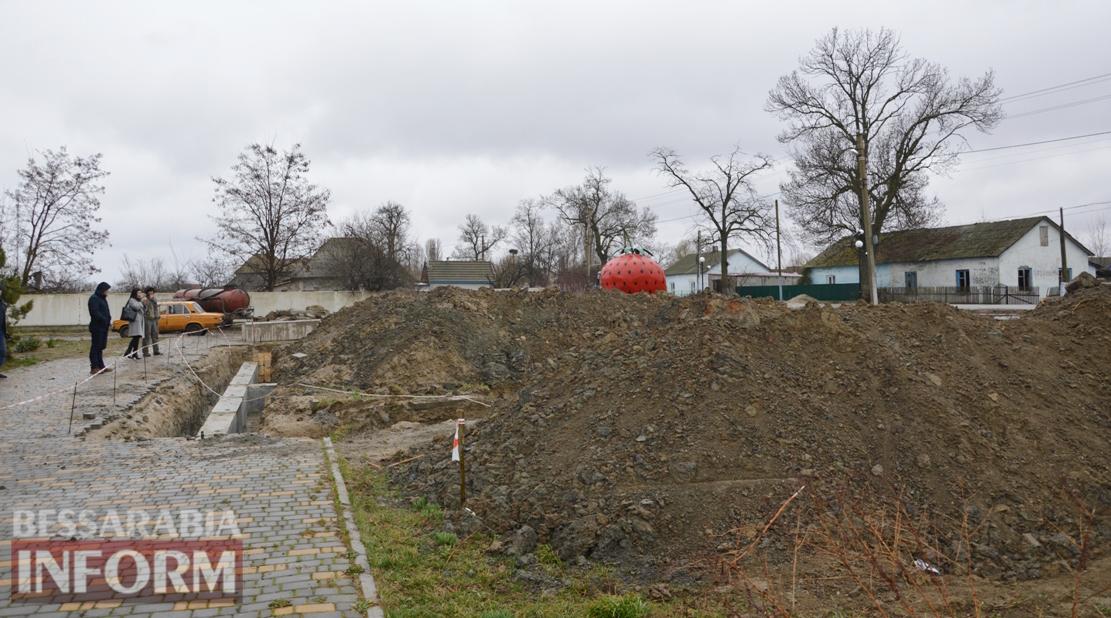 Возведен фундамент: в селе Килийской ОТГ в разгаре строительство амбулатории за почти 6 миллионов гривен