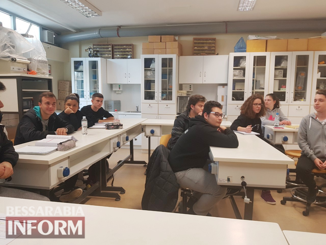 Представители килийской школы презентовали родной край на научной конференции в греческом городе-побратиме Килии