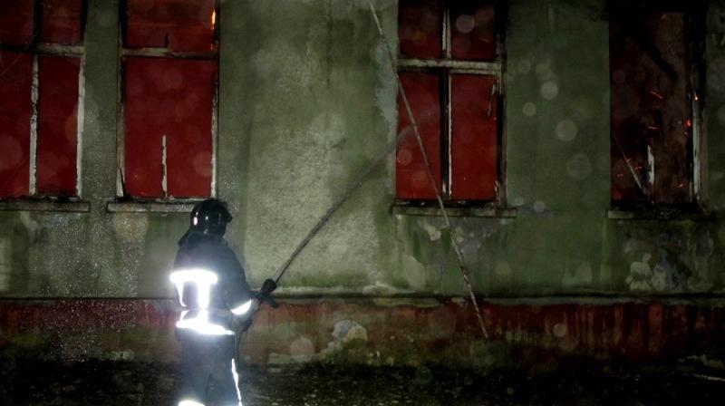 В Одессе произошел масштабный пожар: полиция задержала бездомных, подозреваемых в поджоге