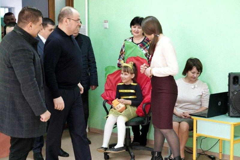 В Татарбунарах заработал инклюзивно-ресурсный центр - на открытие приехал губернатор