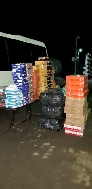 В Тарутинском районе водитель автобуса в тайниках пытался провести контрабанду на сумму в четверть миллиона гривен