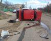 ДТП в Белгород-Днестровском районе: водитель «копейки» не справился с управлением на крутом повороте