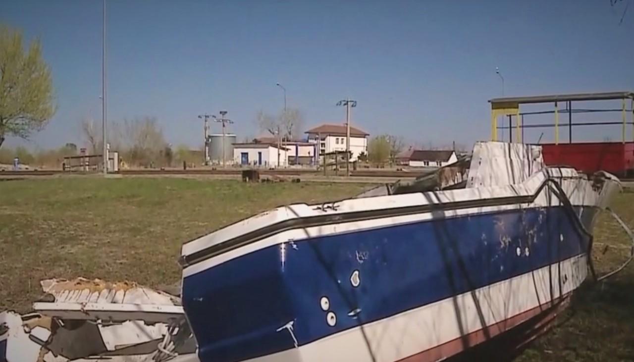 В уезде Тулча на Дунае обнаружили дрейфующую лодку, в которой был спрятан кокаин на 350 млн евро