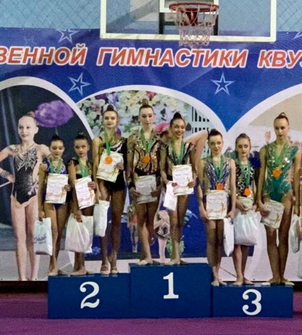 Измаильские спортсменки - победители и призеры международного турнира по гимнастике «Весенняя капель»