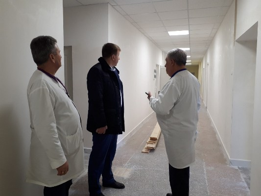 В Арцизе новое современное отделение ЦРБ заработает уже в апреле
