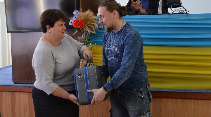 Медработникам Белгород-Днестровского района вручили мобильно-диагностические комплексы