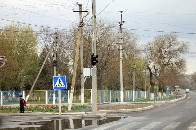 Водителям на заметку: на трассе Одесса-Рени в Измаильском районе появился новый светофор