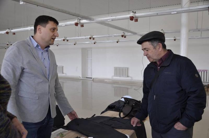 Болградский р-н: в селе Васильевка инвестор из Германии открыл современный швейный цех