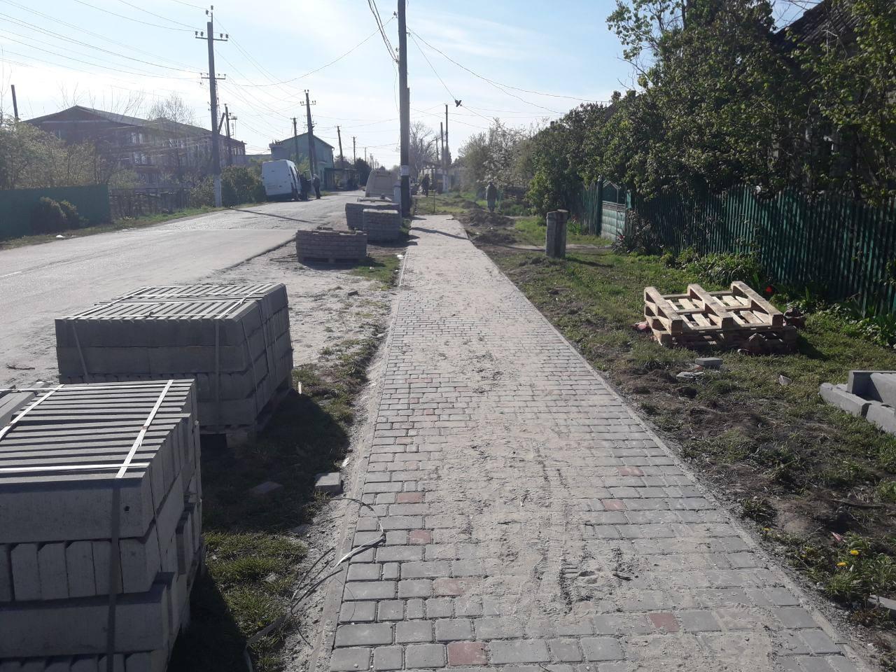 В клубничной столице - селе Лески Килийской ОТГ - реконструируют центр
