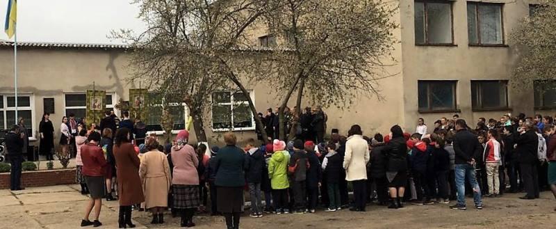 В Белгород-Днестровском районе открыли мемориальную доску в честь погибшего воина АТО