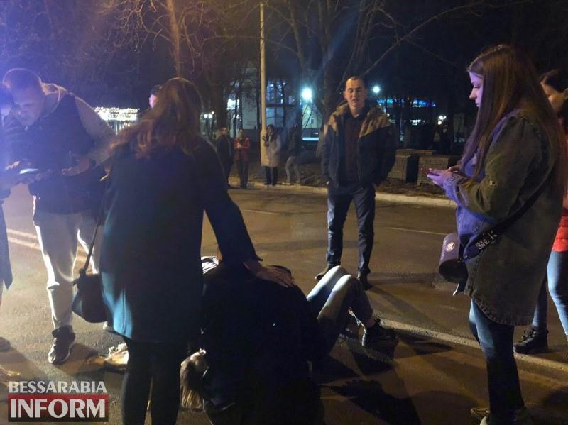 На выходных в Измаиле на пешеходном переходе сбили ребенка