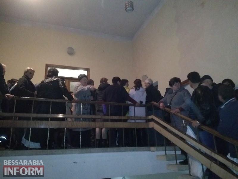 В Татарбунарах в окружной комиссии - аврал: некоторые измученные члены комиссий теряют сознание