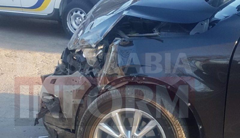 В Измаиле в результате ДТП перевернулась маршрутка с пассажирами, есть пострадавшие