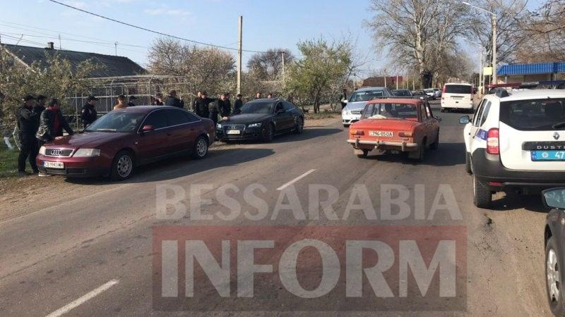 Спецоперация на въезде в Измаил: полиция задержала криминальных авторитетов с Кавказа