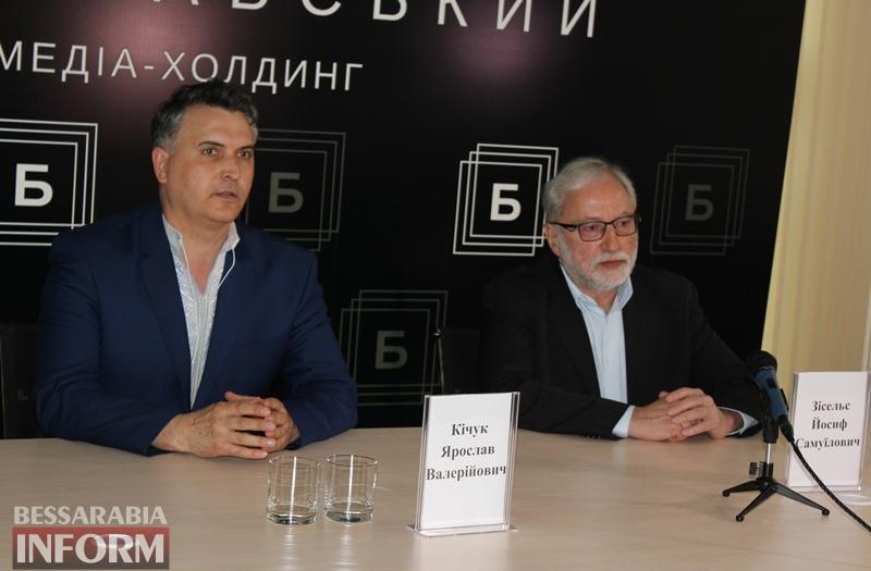 О ксенофобии, хасидах и украинских евреях: глава ВААД Украины прочитал в Измаиле серию лекций и дал обширную пресс-конференцию