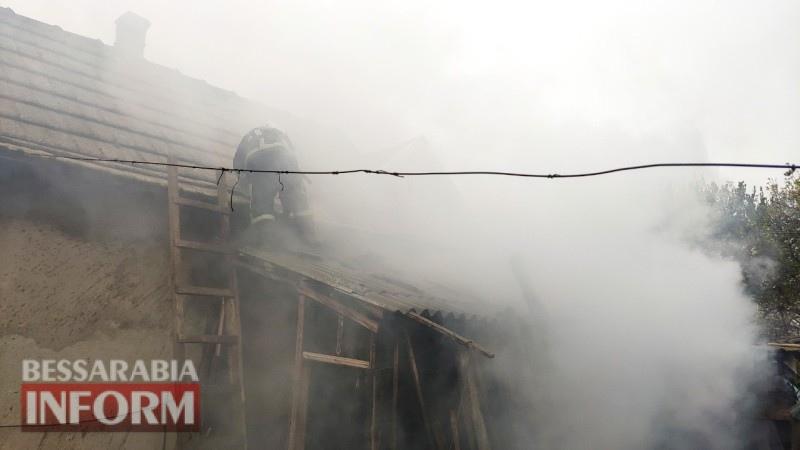 Палила мусор - сожгла сарай: в Белгород-Днестровском районе произошел пожар из-за неосторожности пожилой женщины
