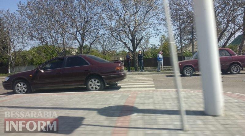 В Измаиле ДТП с участием трех автомобилей заблокировало движение по части проспекта Суворова