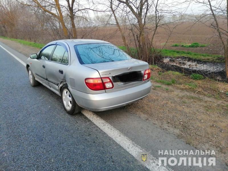На трассе Одесса-Рени перевернулся автомобиль, есть пострадавшие