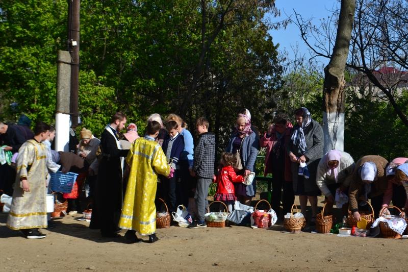 Праздник Пасхи в Свято-Вознесенском соборе Белгород-Днестровского