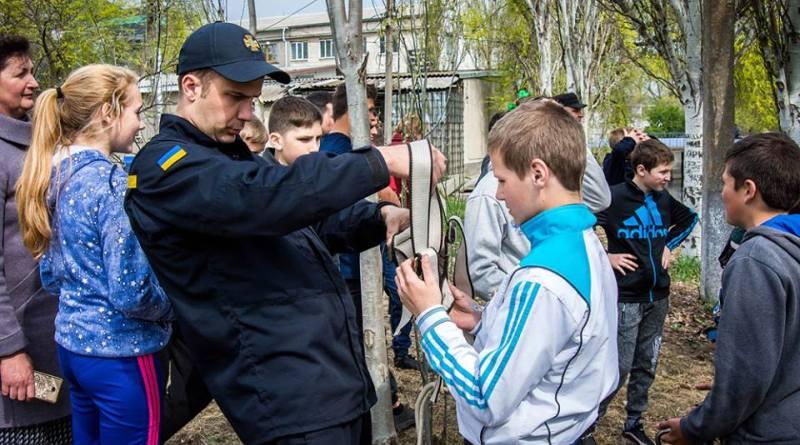 В Татарбунарах состоялся районный этап фестиваля-конкурса дружин юных пожарных