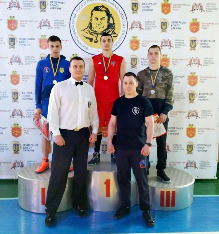 Боксёр из Белгород-Днестровского района стал победителем всеукраинского турнира