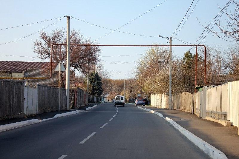 В Измаиле проведен капитальный ремонт улицы Судоремонтников