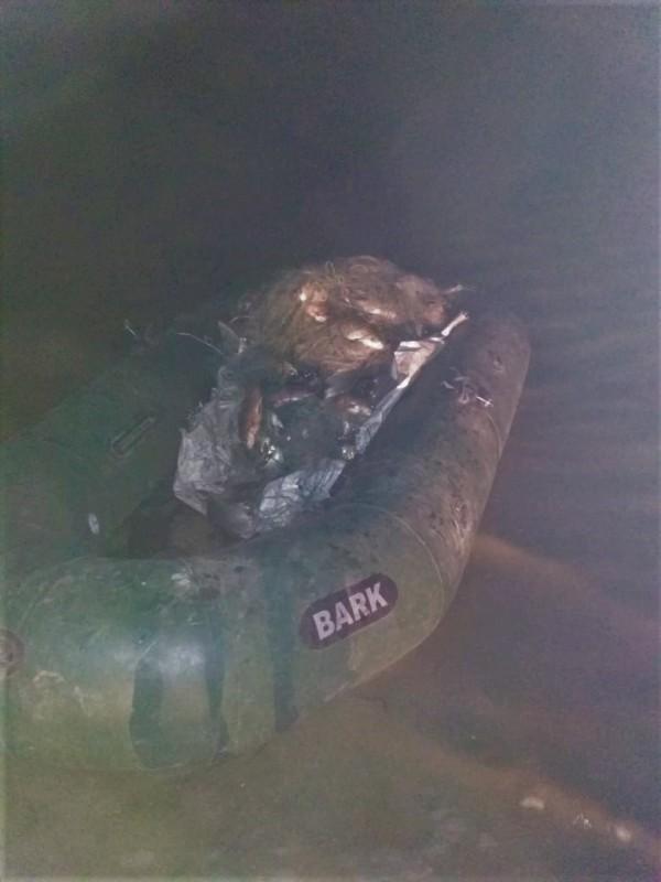 На озере Кагул пограничники задержали браконьеров, чей улов нанес ущерб на 15 тысяч гривен