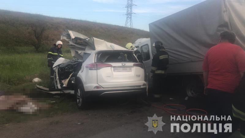 В Одесской области в результате страшной автомобильной аварии погибло 4 человека