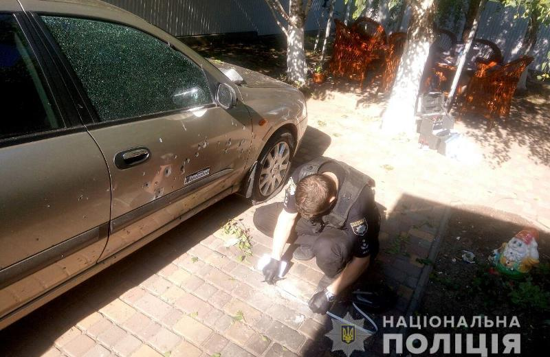 В Рени во двор местной жительницы бросили гранату