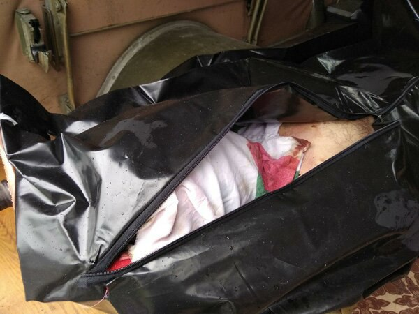 Боевики передали украинской стороне тело морпеха из Килийского района, который пропал без вести во время боя