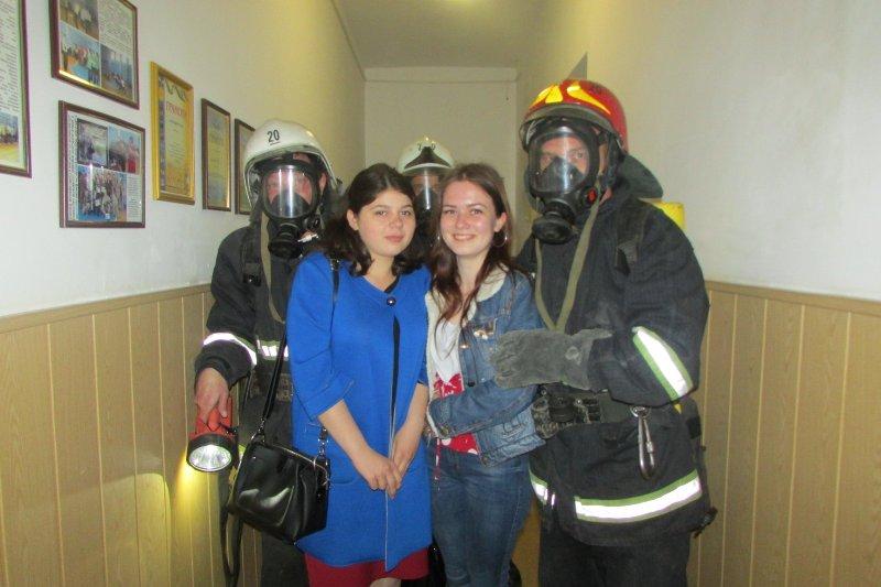 Спасатели обучили студентов Придунайской филии «МАУП» правилам пожарной безопасности