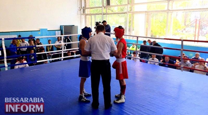В Шабо наградили победителей чемпионата Украины по боксу